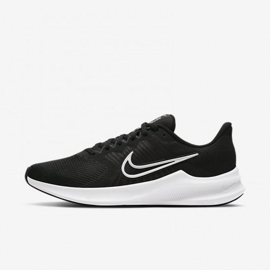 Giày Nike Downshifter 11 Nữ- Đen Trắng