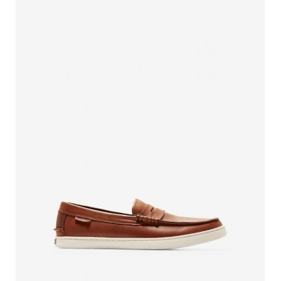 Giày Cole Haan Nantucket Loafer II Nam- Nâu