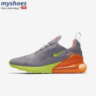 Giày Nike Air Max 270 Nam - Xám Cam