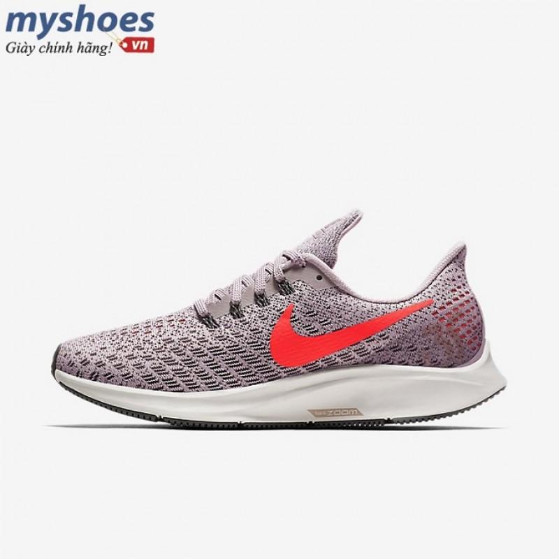 new style 2c8a4 11ea6 Giày Nike Air Zoom Pegasus 35 Nữ - Tím móc hồng