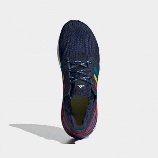 Giày adidas Ultra Boost 20 Tokyo City Nam - Xanh Navy Đỏ