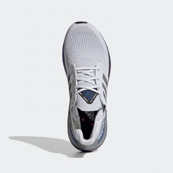 Giày adidas Ultra Boost 20 Nam - Xám Đế Xanh