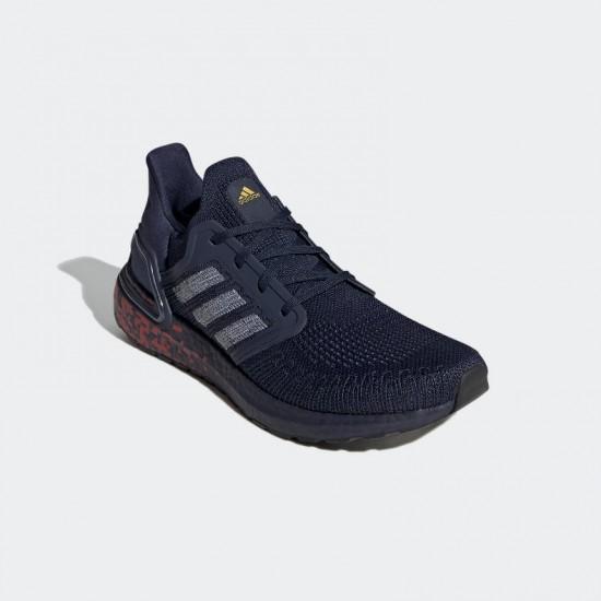 Giày adidas Ultra Boost 20 Nam - Xanh Navy Đỏ