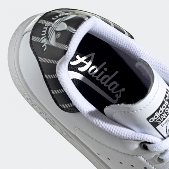 Giày adidas Stan Smith - Nữ Trắng Đen