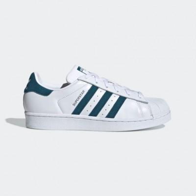 Giày adidas Superstar Nữ - Trắng xanh
