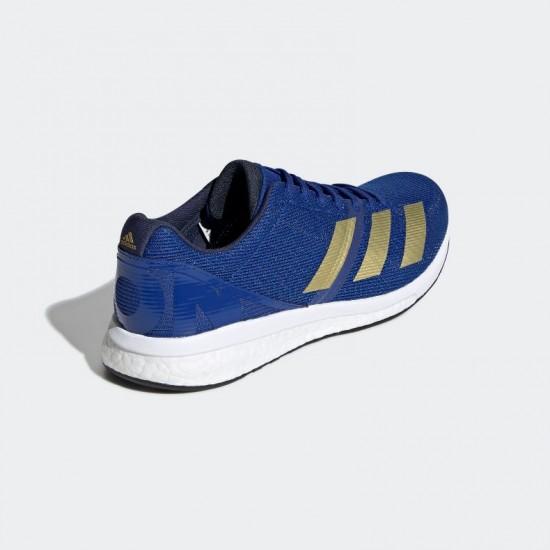 Giày adidas Adizero Boston 8 m Nam - Xanh Gold