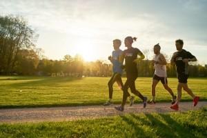 Chạy bộ nâng cao, tăng cường sức đề kháng bản thân