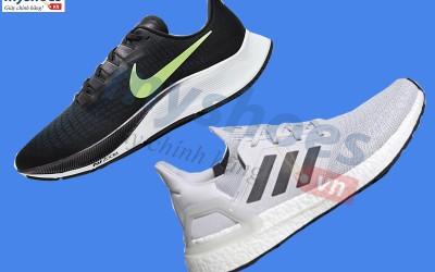 So sánh Adidas Ultraboost 20 và Nike Airzoom Pegasus 37