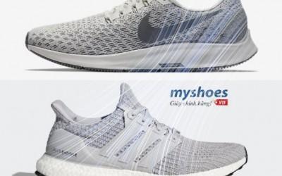 Giày chạy bộ nam - chọn Nike hay adidas?