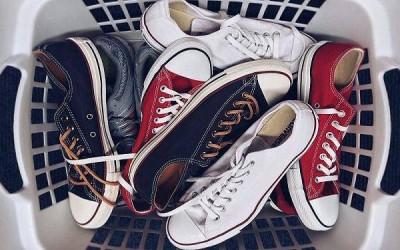 Giặt giày bằng máy giặt một cách an toàn
