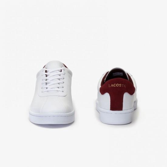 Giày Lacoste Master 319 Nam -Trắng Đỏ