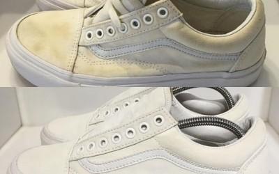 Khắc phục các vết ố trên giày hiệu quả