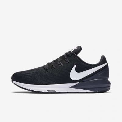 Giày Nike Air Zoom Structure 22 Nữ - Đen Trắng