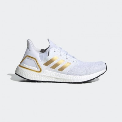 Giày adidas Ultra Boost 20 Nữ - Trắng Gold