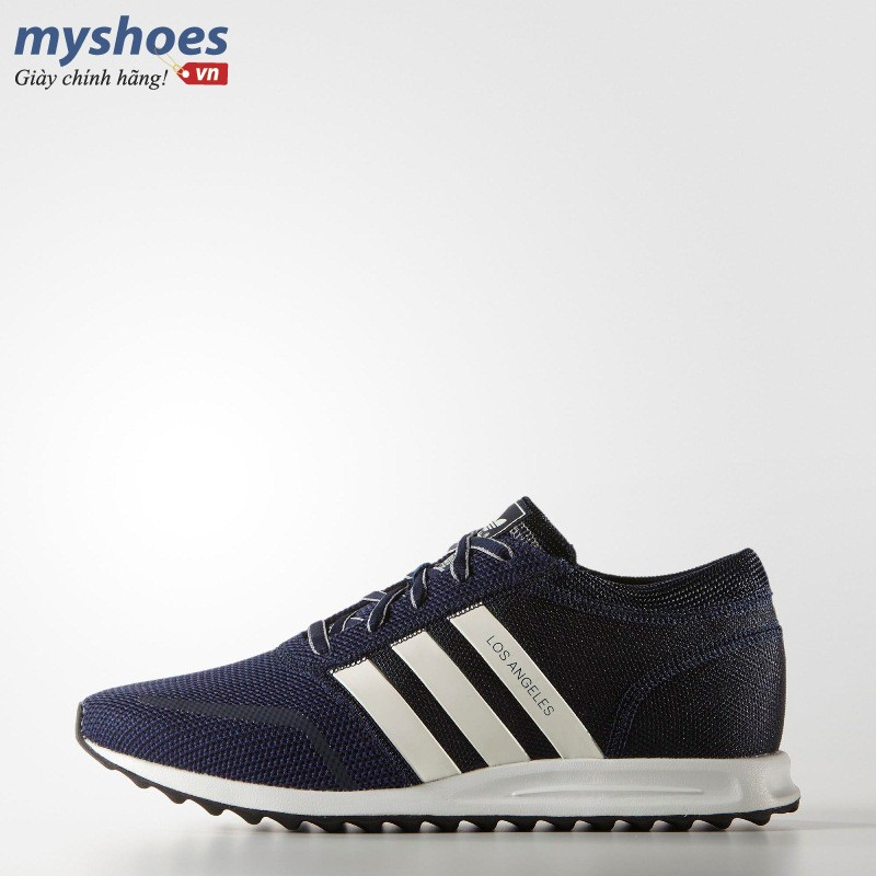 Giày Adidas Los Angeles Nam - Navy Trắng