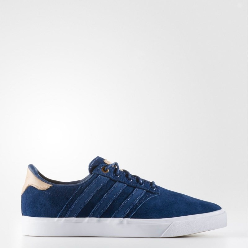Giày adidas Seeley Premiere Classified Nam - Xanh Biển