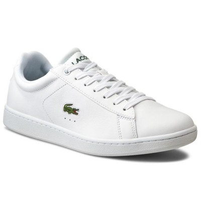 Giày Lacoste Carnaby Evo LCR Nam - Trắng