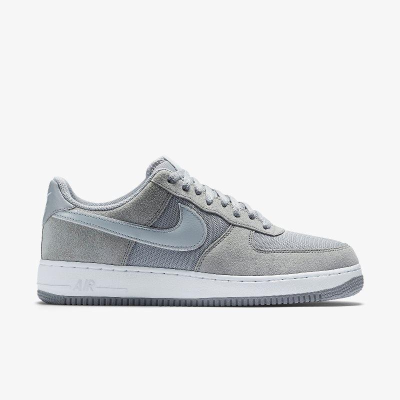 Giày Nike Air Force 1 Low (Trắng Xám)