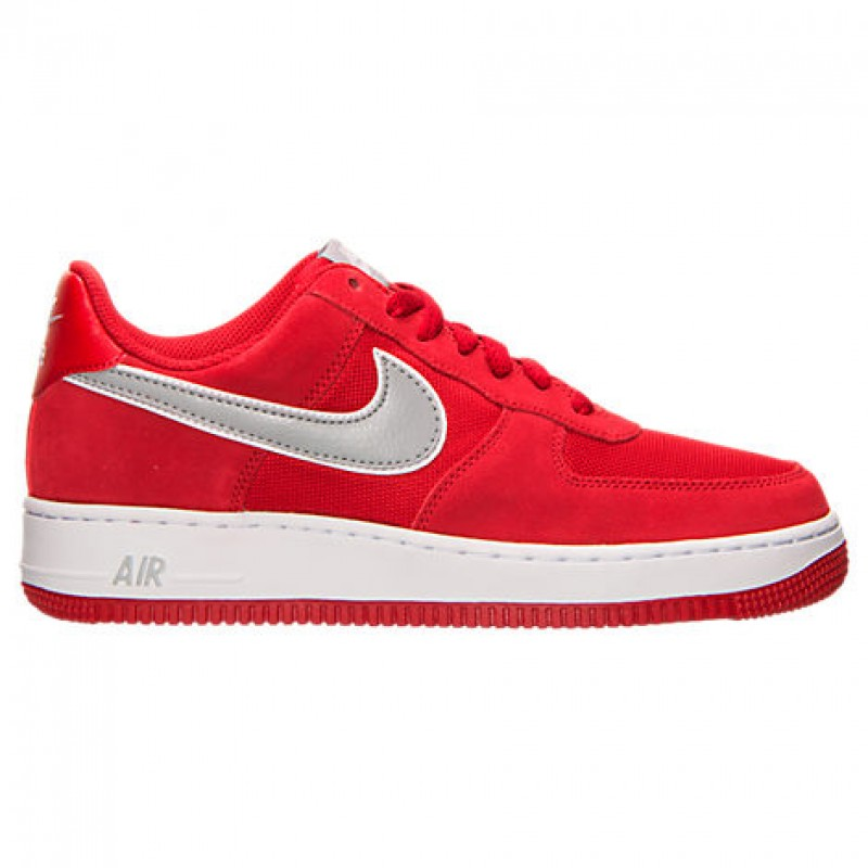 Giày Nike Air Force 1 Low Suede (Đỏ)