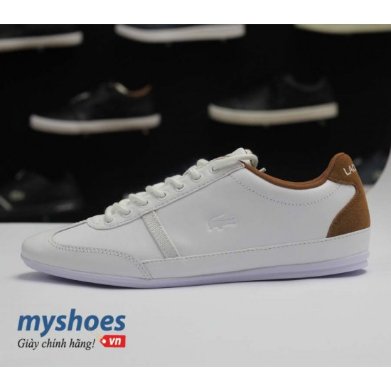 Giày Lacoste Misano Sport 317 - Trắng