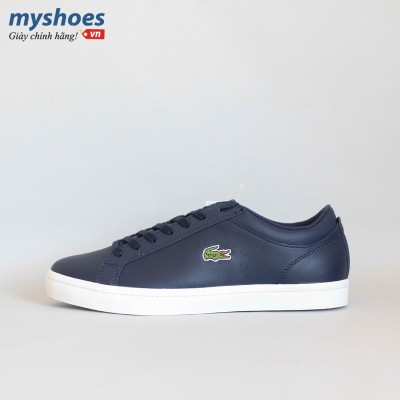 Giày Lacoste Straightset BL Nam - Xanh Navy
