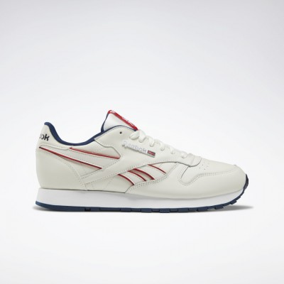 Giày Reebok Classic Leather Nam - Trắng Sữa