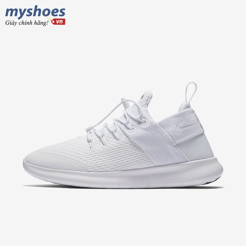 Giày Thể Thao Nike Free RN Commuter 2017 Nữ - Trắng
