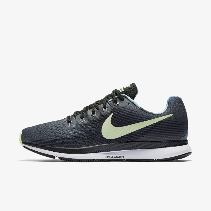 Giày Thể Thao Nike Air Zoom Pegasus 34 Solstice Nam - Xanh Ghi