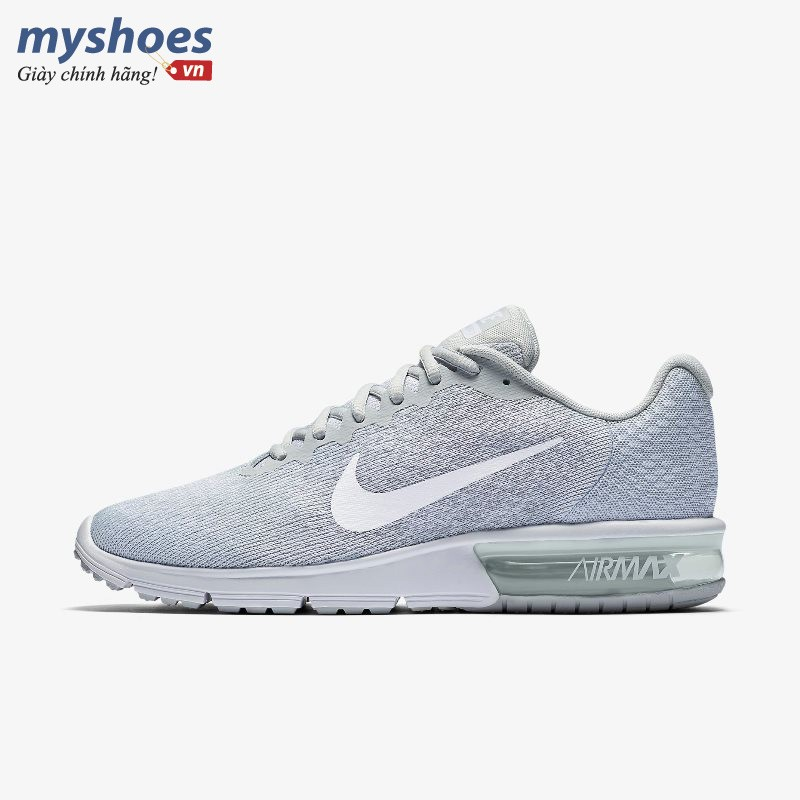 Giày Thể Thao Nike Air Max Sequent 2 Nam - Trắng