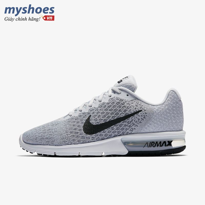 Giày Nike Air Max Sequent 2 Nam - Xám
