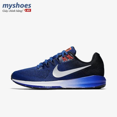 Giày Nike Air Zoom Structure 21 Nam - Xanh