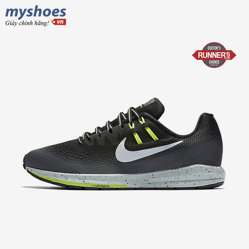Giày Nike Air Zoom Structure 20 Shield Nam - Đen