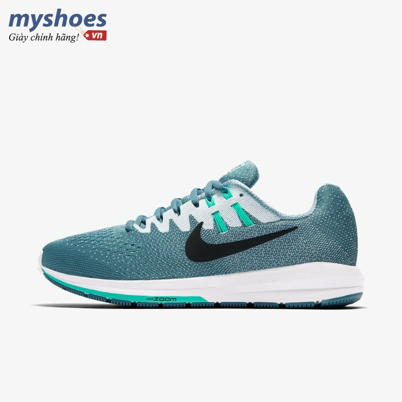 Giày Nike Air Zoom Structure 20 Nữ - Xanh Ngọc