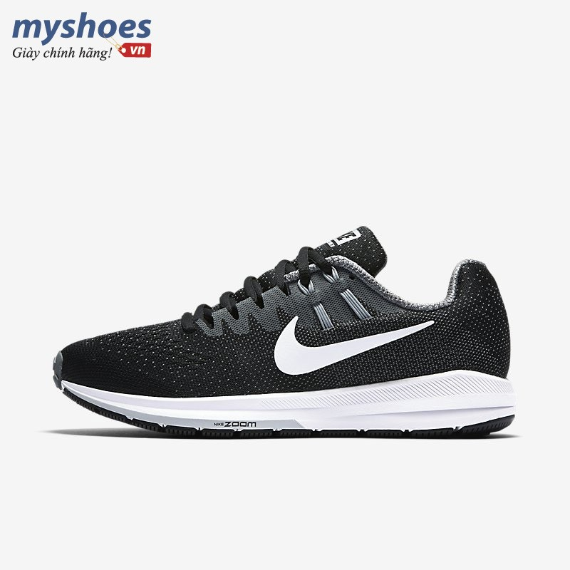 Giày Nike Air Zoom Structure 20 Nữ - Đen