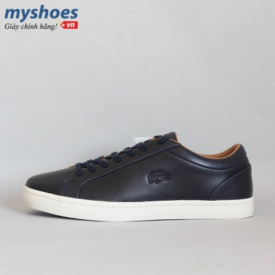 Giày Lacoste Straightset 316 Nam - Xanh  Đen
