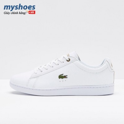 Giày Lacoste Carnaby Evo 118 Nam - Trắng