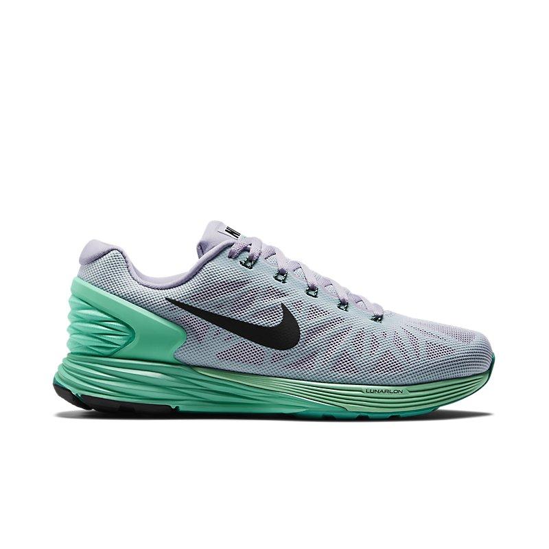 Giày Nike LunarGlide 6 Nữ - Xanh trắng
