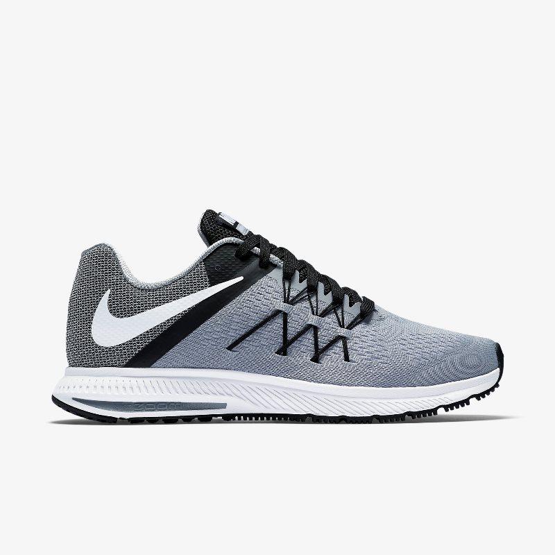 Giày Nike Zoom Winflo 3 Nam - Màu Ghi