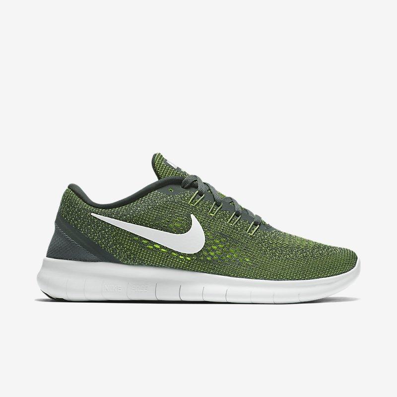 Giày Nike Free RN Nam - Xanh camo