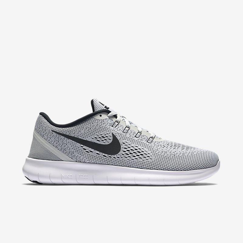 Giày Nike Free RN Nam - Trắng xám