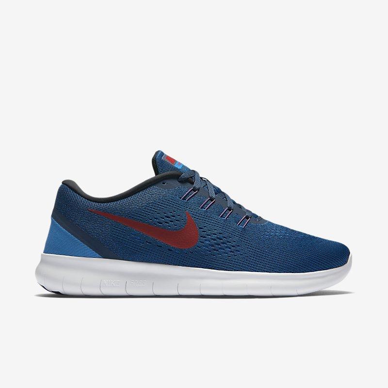 Giày Nike Free RN Nam - Xanh