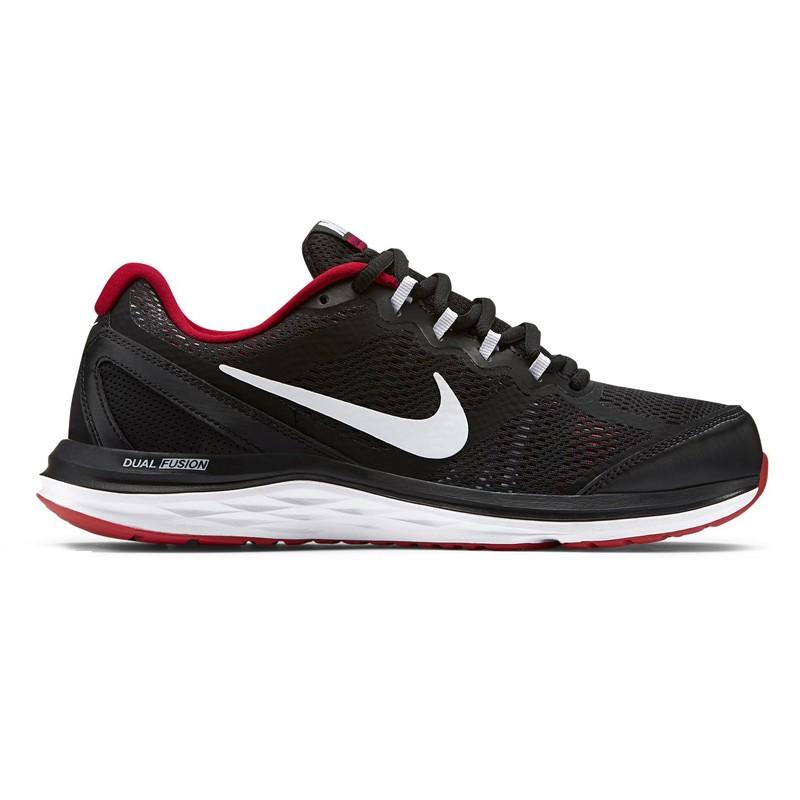 Giày Nike Dual Fusion Run 3 Nam - Đen đỏ