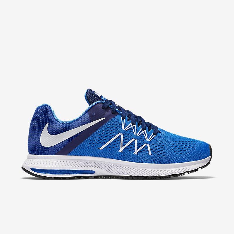 Giày Nike Zoom Winflo 3 Nam - Xanh Trắng