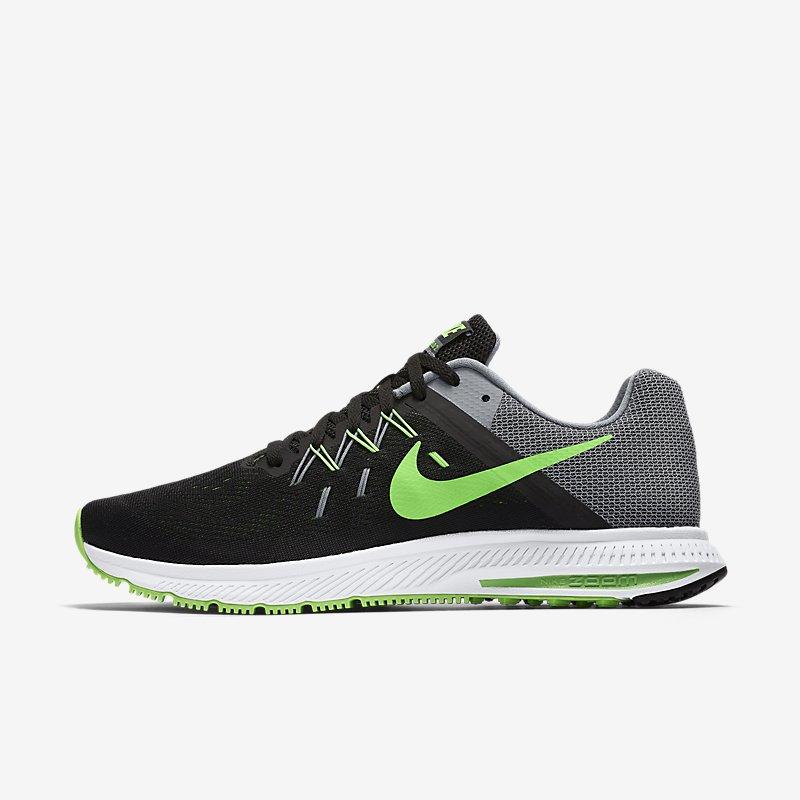 Giày Nike Zoom Winflo 2  Nam - Đen xanh