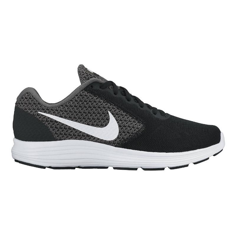 Giày Nike Revolution 3 Nữ - Đen trắng