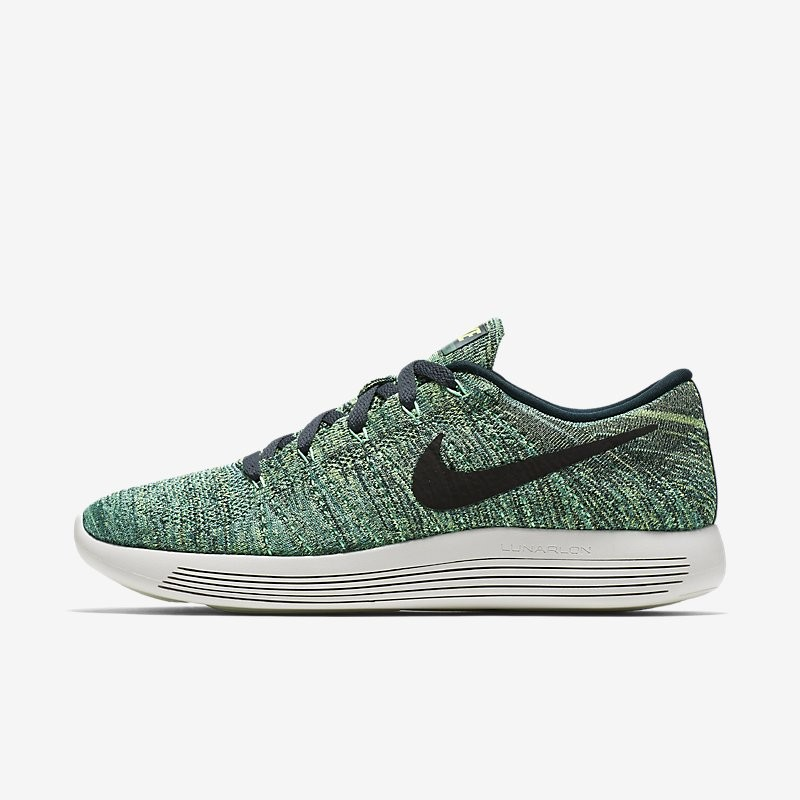 Giày Thể Thao Nike LunarEpic Low Flyknit Nam - Xanh