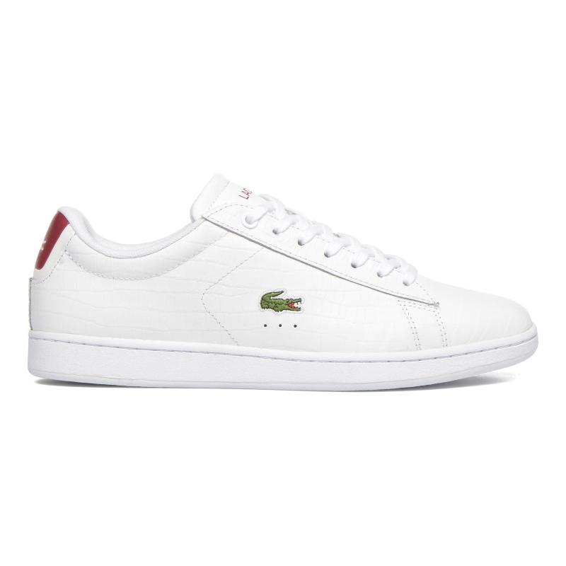 Giày Lacoste Carnaby Evo - Trắng đỏ