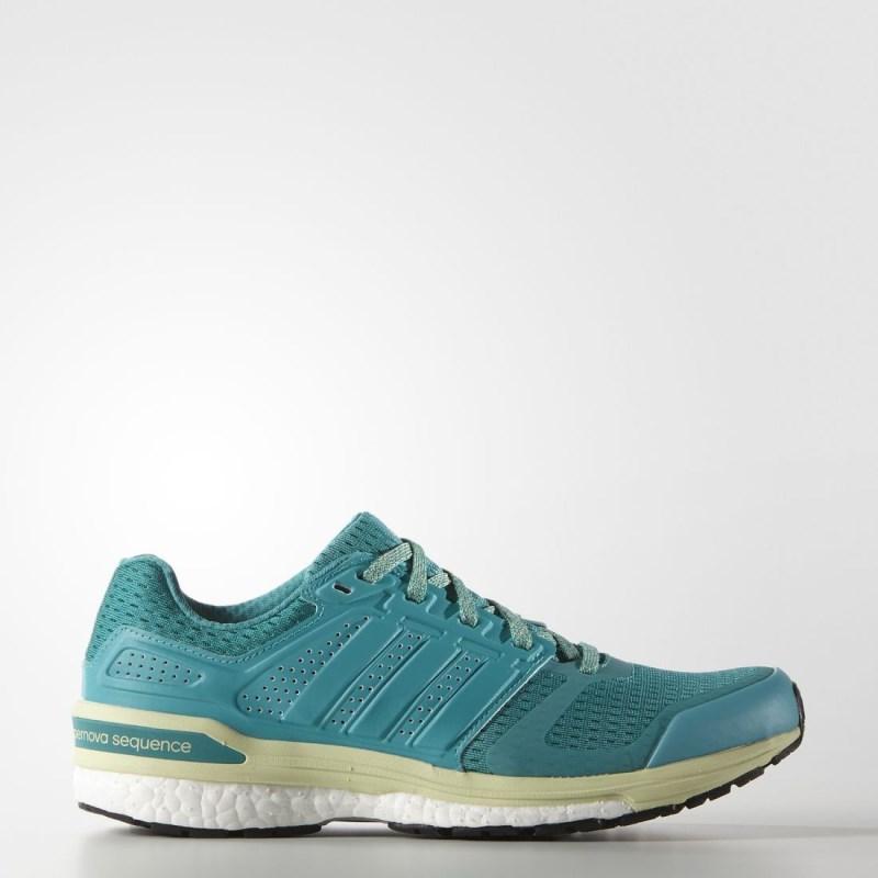 Giày adidas Supernova Sequence Boost 8 Nữ - Xanh
