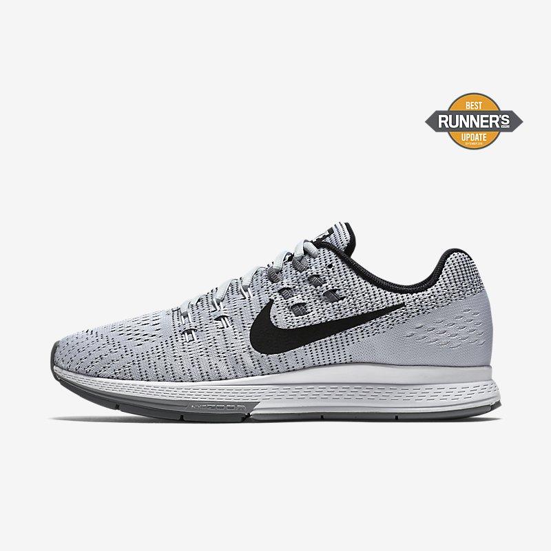 Giày Nike Air Zoom Structure 19 Nam - Trắng Xám