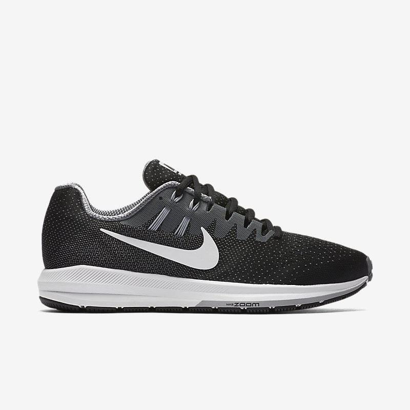Giày Nike Air Zoom Structure 20 Nam - Đen